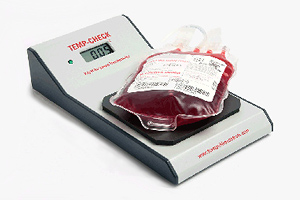 TC 12 Temp Check for Non-Invasive Packaged Blood, Plasma, Platelets and Biologics Digital Temperature Verifcation
